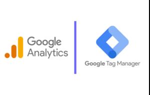 Les deux outils Google : Analytics et Tag Manager